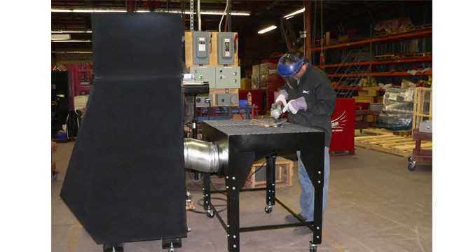 Grinding Dust | Metalworking | Composites | Micro Air