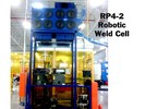 Micro Air RP4-2 configured for capture of weld smoke and fumes in robotic weld cell