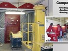 Micro Air CAB, Clean Air Booth captures composites dust generated in the routing, sanding, and grinding work done on larger composite components.