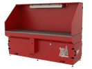 Micro Air XA38M Downdraft Table provides for clean, safe, breathable air in the workplace.